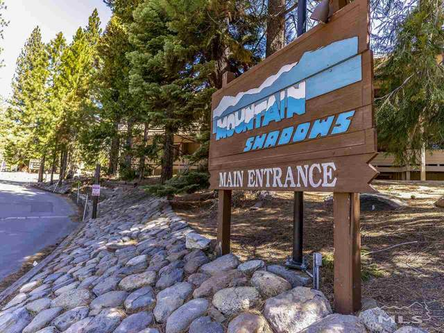 321 Ski Way #63, Incline Village, NV 89451 (MLS #210005059) :: The Mike Wood Team