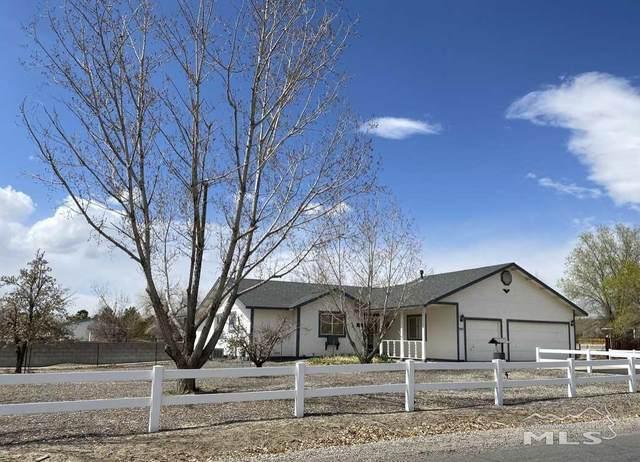 343 Cook Way, Fernley, NV 89408 (MLS #210005069) :: Vaulet Group Real Estate