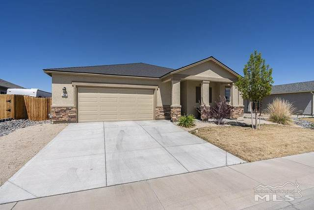 166 Walnut Drive, Fernley, NV 89408 (MLS #210005305) :: Craig Team Realty