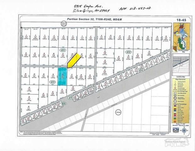 5915 Dayton Ave., Silver Springs, NV 89429 (MLS #210005365) :: Chase International Real Estate