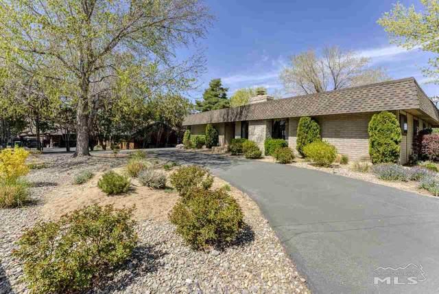 5845 Blue Hills Drive, Reno, NV 89502 (MLS #210005683) :: The Mike Wood Team