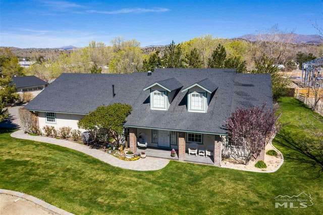 781 Saddle Ct., Gardnerville, NV 89410 (MLS #210005692) :: NVGemme Real Estate