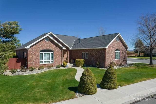 1022 Sierra Vista, Gardnerville, NV 89460 (MLS #210005726) :: Chase International Real Estate