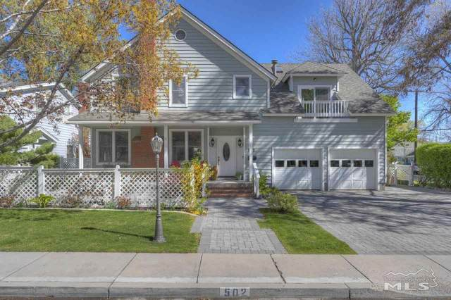 502 W Robinson Street, Carson City, NV 89703 (MLS #210005787) :: Chase International Real Estate
