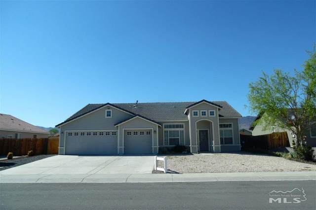 1134 Cheatgrass Dr, Dayton, NV 89403 (MLS #210005985) :: Chase International Real Estate