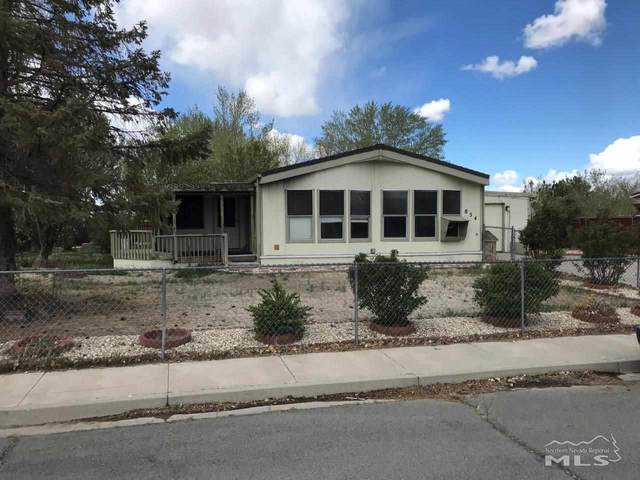854 Scott Drive, Fernley, NV 89408 (MLS #210006008) :: NVGemme Real Estate