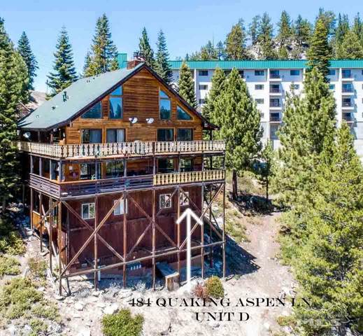 484 Quaking Aspen D, Stateline, NV 89449 (MLS #210006012) :: Vaulet Group Real Estate