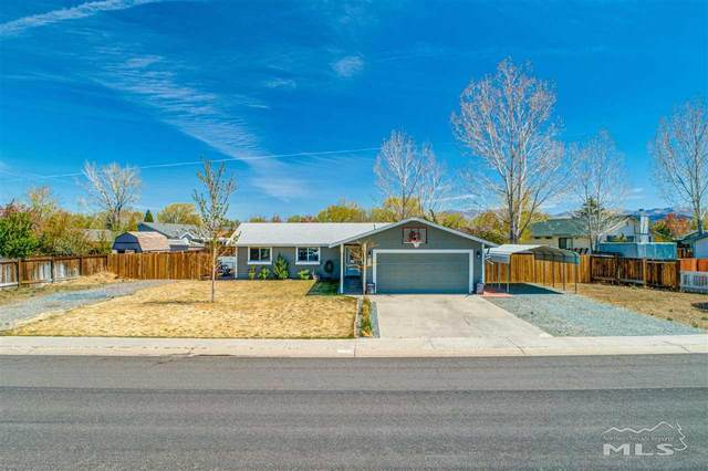 803 Hornet Dr., Gardnerville, NV 89460 (MLS #210006151) :: NVGemme Real Estate