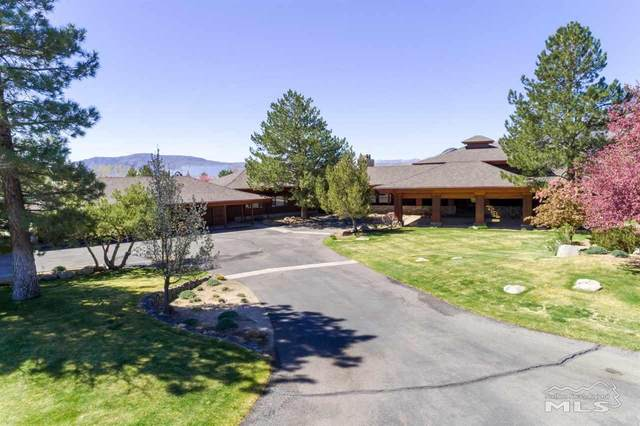 39 and 45 Miller Ridge Road, Smith, NV 89444 (MLS #210006254) :: Chase International Real Estate