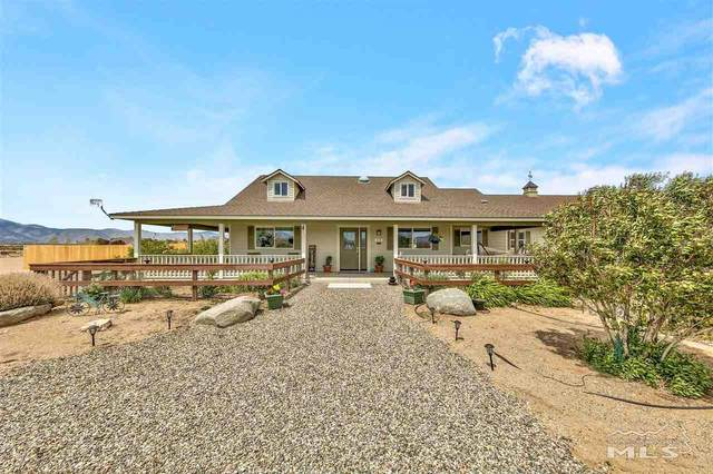 255 Chaparral, Smith, NV 89430 (MLS #210006312) :: Chase International Real Estate