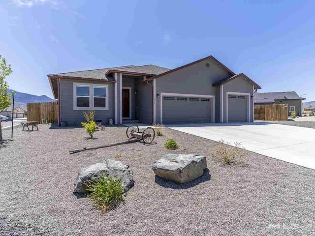 1021 Ryegrass Rd, Dayton, NV 89403 (MLS #210006315) :: NVGemme Real Estate