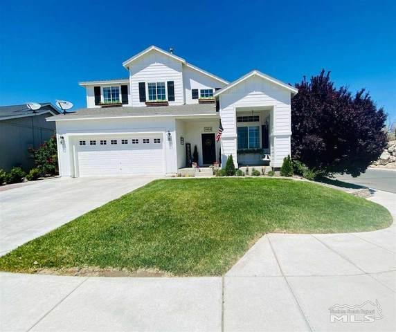 1494 Mountain Rose, Fernley, NV 89408 (MLS #210006340) :: Vaulet Group Real Estate