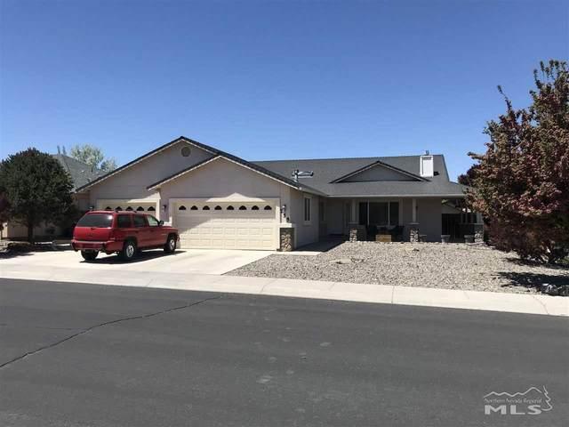 755 Divot Drive, Fernley, NV 89408 (MLS #210006346) :: Vaulet Group Real Estate