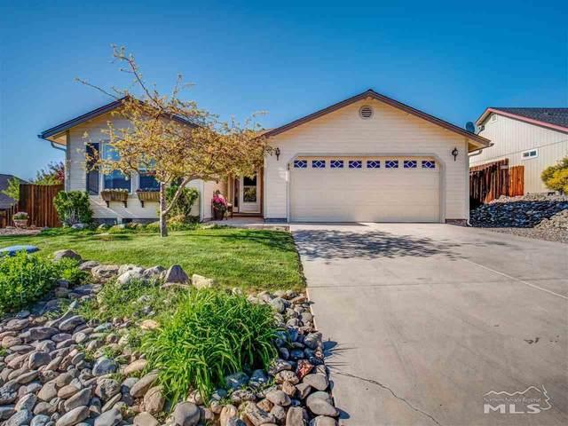 44 Conner Way, Gardnerville, NV 89410 (MLS #210006539) :: Chase International Real Estate