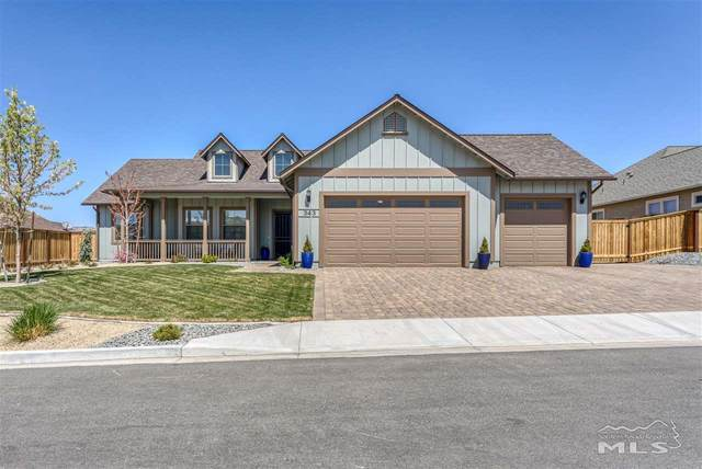 343 Coyote Crossing, Sparks, NV 89441 (MLS #210006545) :: Theresa Nelson Real Estate