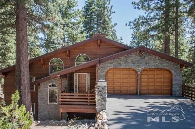 649 Crystal Peak, Incline Village, NV 89451 (MLS #210007229) :: Chase International Real Estate