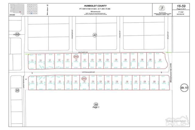 Lot 8 Offenhauser Dr, Winnemucca, NV 89820 (MLS #210007262) :: Chase International Real Estate
