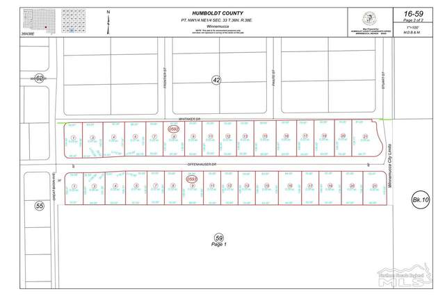 Lot 24 Offenhauser Dr, Winnemucca, NV 89820 (MLS #210007272) :: Chase International Real Estate