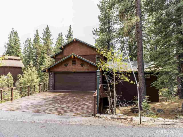 717 Golfers Pass Road, Incline Village, NV 89451 (MLS #210007401) :: Chase International Real Estate