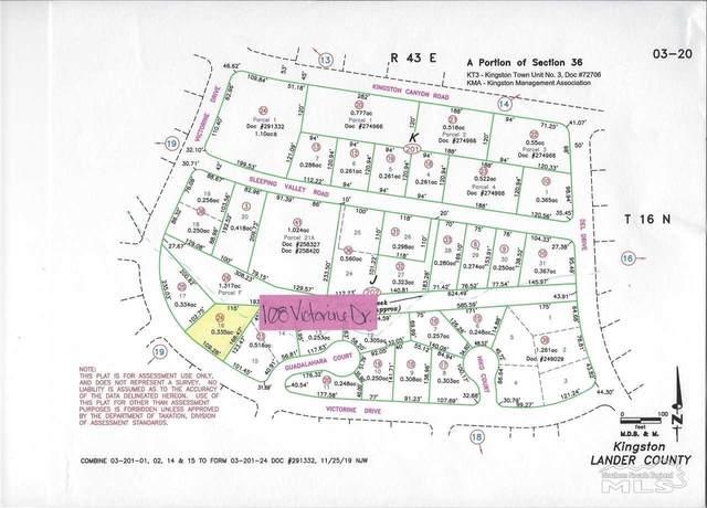 108 Victorine Drive, Kingston, NV 89310 (MLS #210007484) :: Theresa Nelson Real Estate