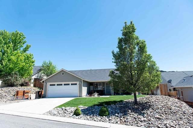 37 Conner Way, Gardnerville, NV 89410 (MLS #210007663) :: NVGemme Real Estate