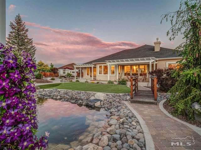 2824 North Fork Lane, Minden, NV 89423 (MLS #210007935) :: Chase International Real Estate