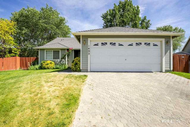1403 Aldersgate, Gardnerville, NV 89410 (MLS #210007995) :: Chase International Real Estate