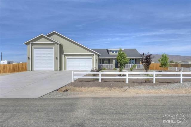 6303 Bluegrass Drive, Stagecoach, NV 89429 (MLS #210008029) :: Chase International Real Estate