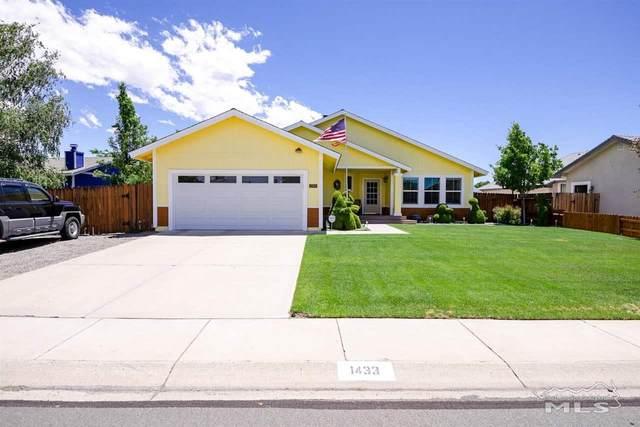 1433 Patricia, Gardnerville, NV 89460 (MLS #210008193) :: Chase International Real Estate