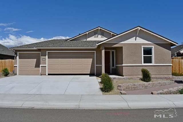 1535 Snaffle Bit Drive, Gardnerville, NV 89410 (MLS #210008198) :: Chase International Real Estate