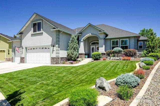 1383 Stodick Lane, Gardnerville, NV 89410 (MLS #210008229) :: Chase International Real Estate