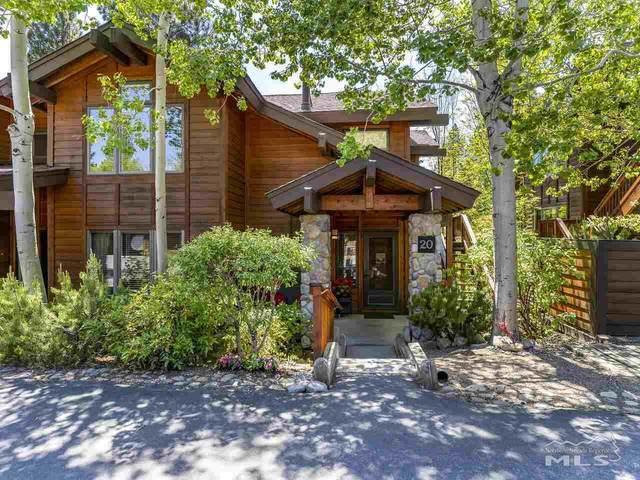 929 Northwood Blvd. #20, Incline Village, NV 89451 (MLS #210008342) :: Chase International Real Estate