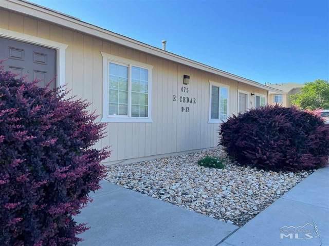 475 E Cedar Street, Fernley, NV 89408 (MLS #210008865) :: Theresa Nelson Real Estate