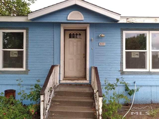 855 Scott Drive, Fernley, NV 89408 (MLS #210008976) :: Theresa Nelson Real Estate