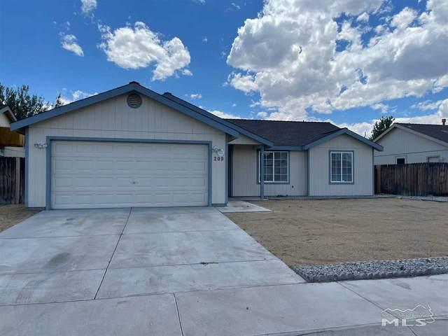 209 Jenny's, Fernley, NV 89408 (MLS #210009017) :: Theresa Nelson Real Estate