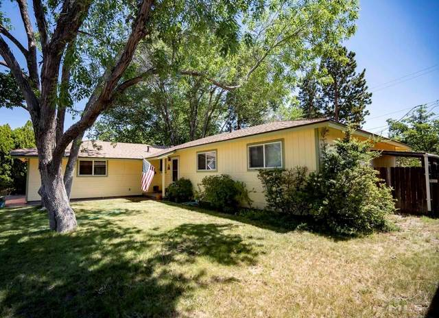 1821 Alpine Street, Carson City, NV 89703 (MLS #210009705) :: Chase International Real Estate