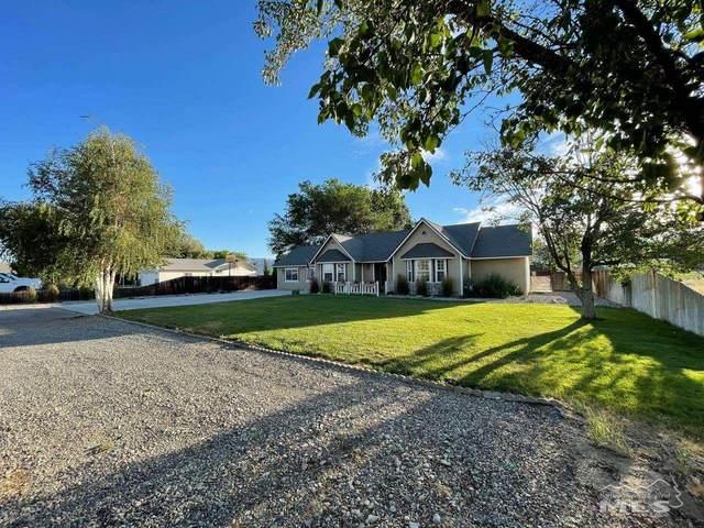 317 Hwy 208, Yerington, NV 89447 (MLS #210009857) :: Chase International Real Estate