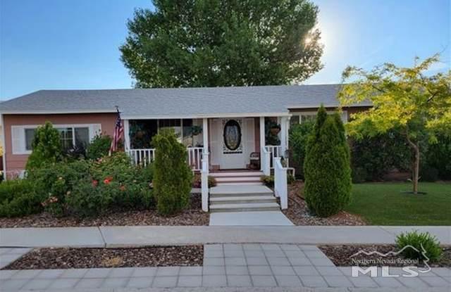 255 Ash Street, Hawthorne, NV 89415 (MLS #210009939) :: NVGemme Real Estate