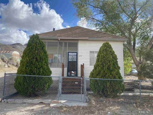 639 Central St, Tonopah, NV 89049 (MLS #210010043) :: Theresa Nelson Real Estate