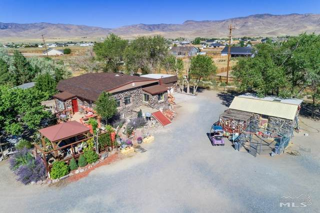 9840 Us Highway 50, Stagecoach, NV 89429 (MLS #210010178) :: The Mike Wood Team