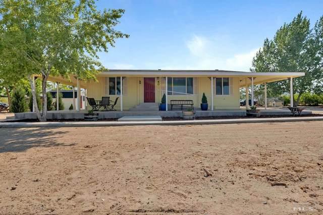 50 N Bybee Ln, Yerington, NV 89447 (MLS #210010375) :: Chase International Real Estate