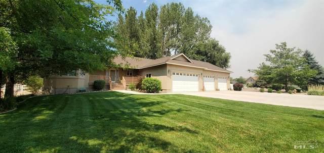 1522 Lou Court, Gardnerville, NV 89460 (MLS #210010575) :: Chase International Real Estate