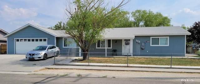 800 E 1st St., Hawthorne, NV 89415 (MLS #210010803) :: NVGemme Real Estate