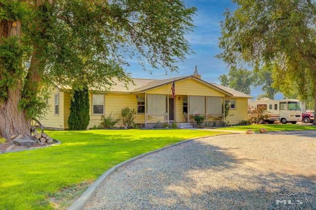16 Cottonwood Lane, Yerington, NV 89447 (MLS #210010930) :: Chase International Real Estate