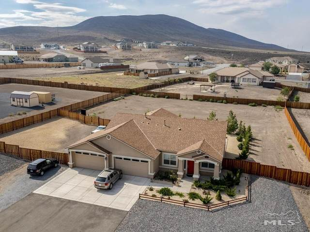712 Seabiscuit Drive, Fernley, NV 89408 (MLS #210011063) :: Theresa Nelson Real Estate