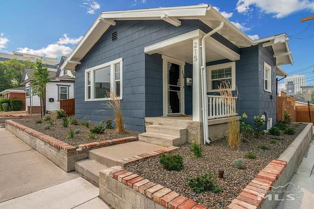 215 E Liberty Street, Reno, NV 89501 (MLS #210011076) :: Vaulet Group Real Estate