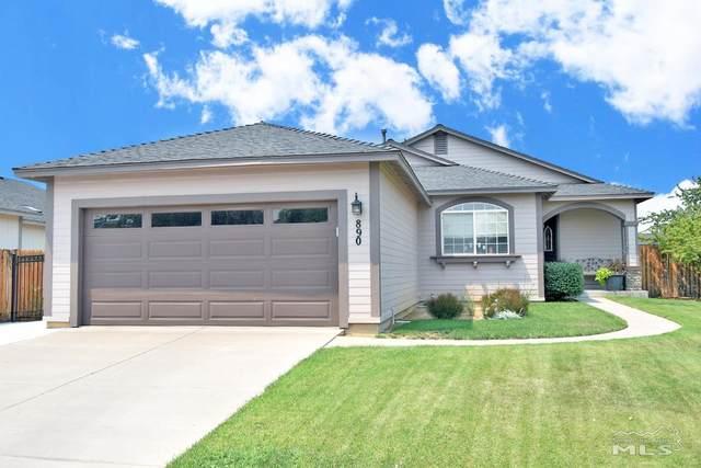 890 Meadow Vista Nv, Carson City, NV 89705 (MLS #210011090) :: Chase International Real Estate