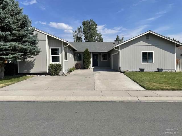 655 Long Valley, Gardnerville, NV 89460 (MLS #210011146) :: Chase International Real Estate