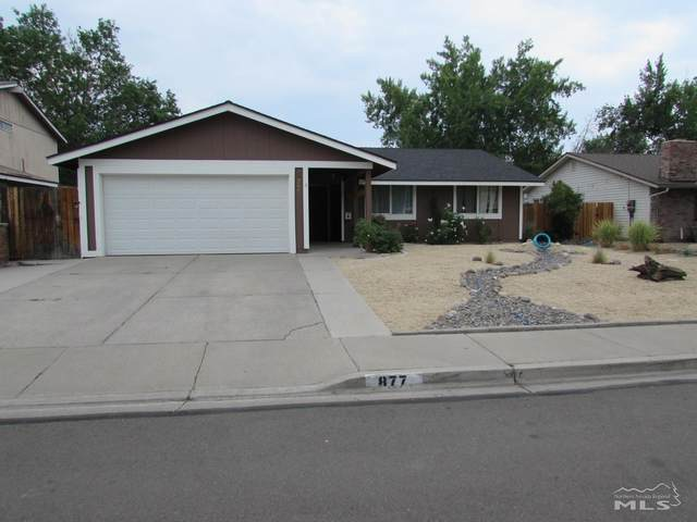 877 Glen Molly Dr, Sparks, NV 89434 (MLS #210011243) :: Vaulet Group Real Estate