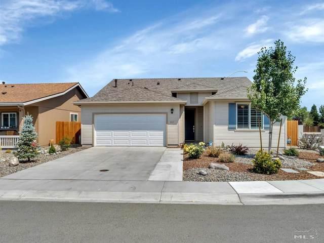 317 Granite Court, Dayton, NV 89403 (MLS #210011274) :: NVGemme Real Estate